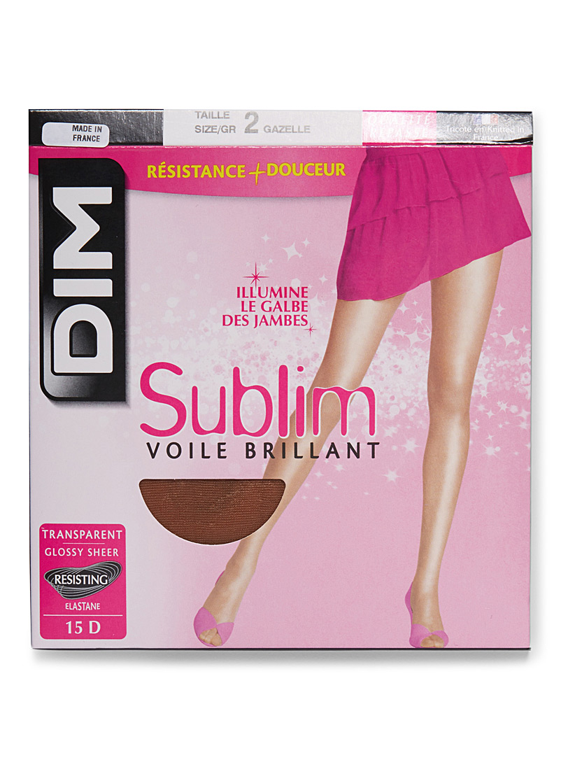 Sublim glossy sheer pantyhose - Regular Nylons - Gazelle