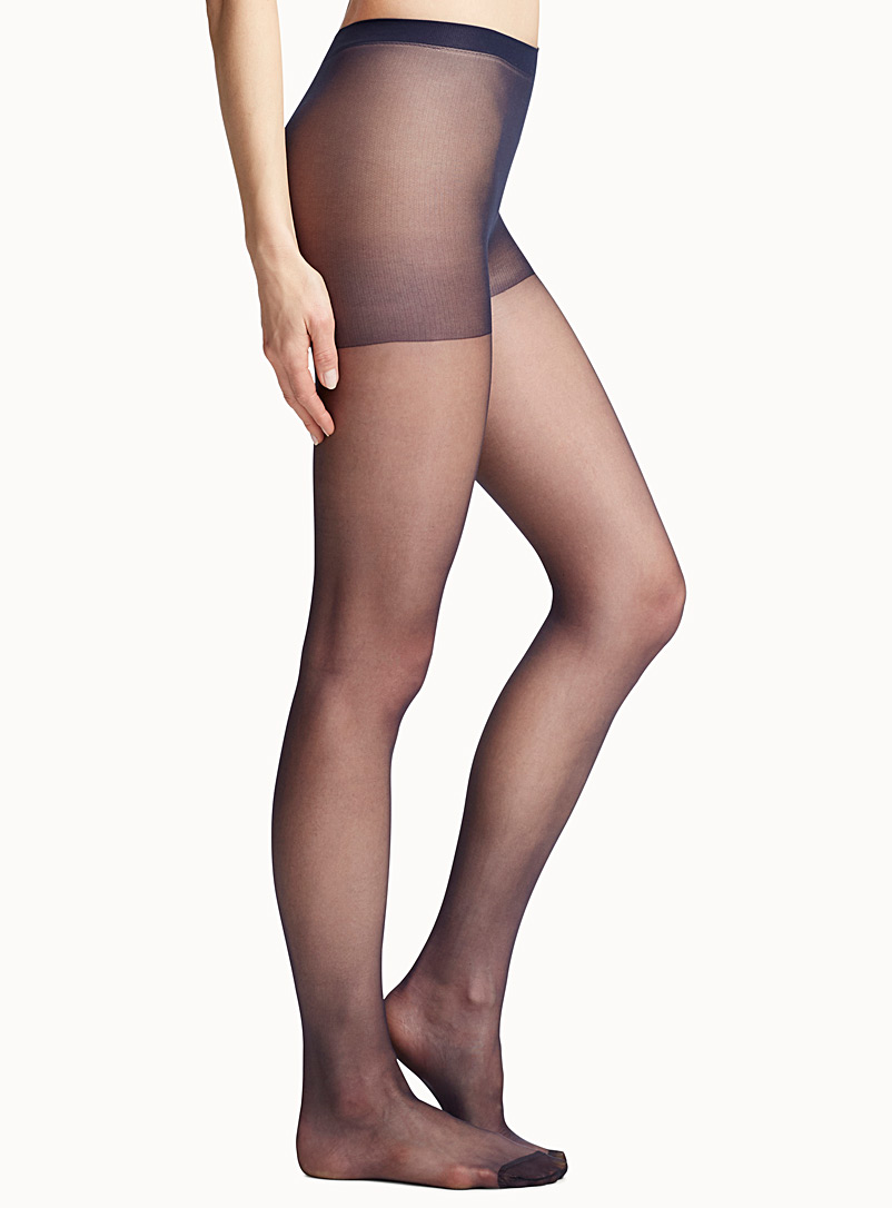 Sublim glossy sheer pantyhose - Regular Nylons - Marine Blue