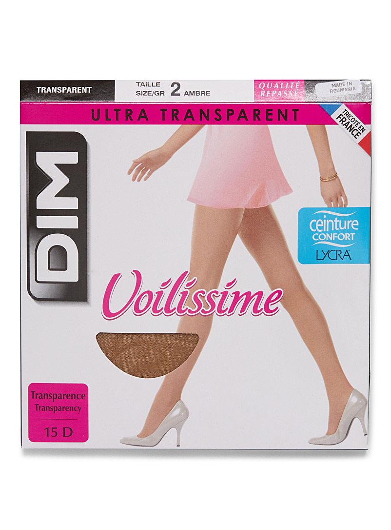 Ultra transparent pantyhose - Regular Nylons - Ambre