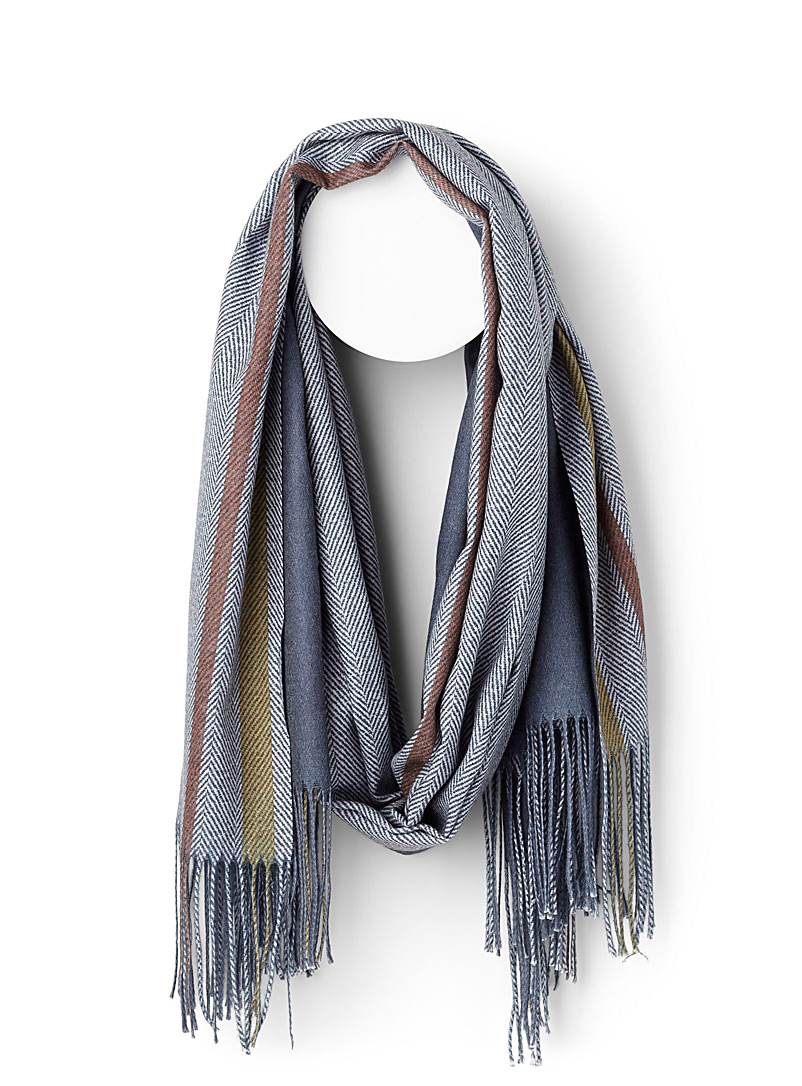 solid-and-chevron-scarf