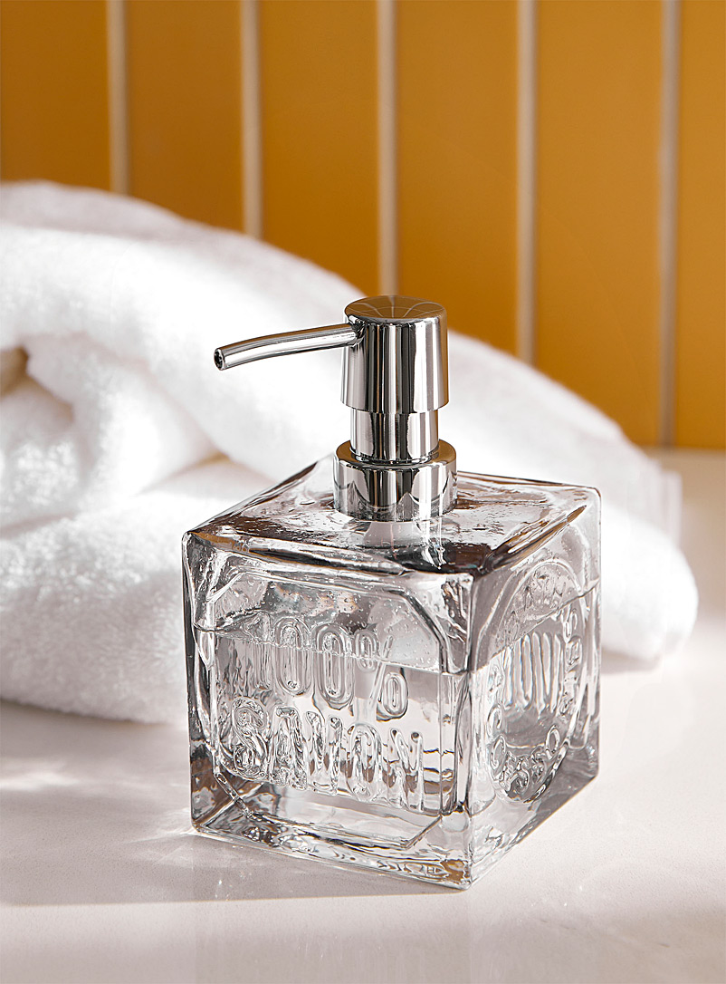 Frosted glass soap dispenser - Accessories & Wastebaskets - Assorted