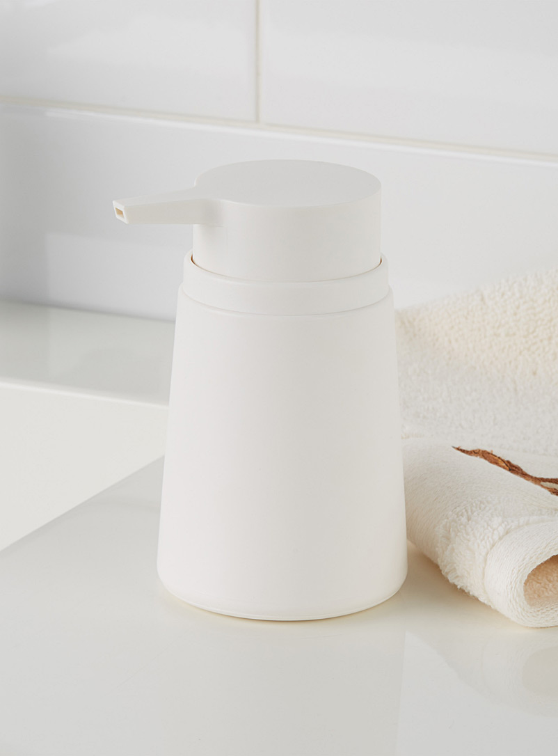 Minimalist modern soap pump - Accessories & Wastebaskets - White