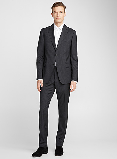 Chalk stripe suit