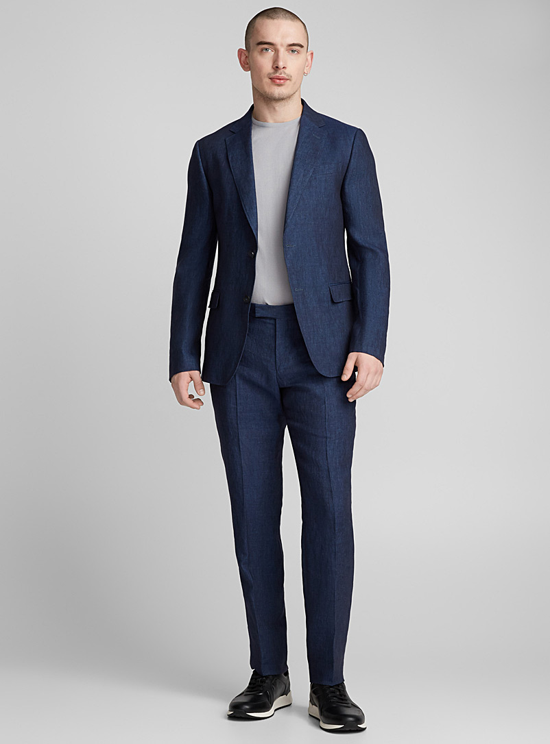 Linen suit - Z Zegna - Dark Blue