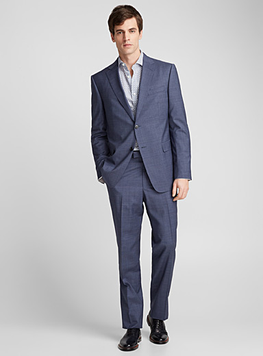 Graphic Prince of Wales suit