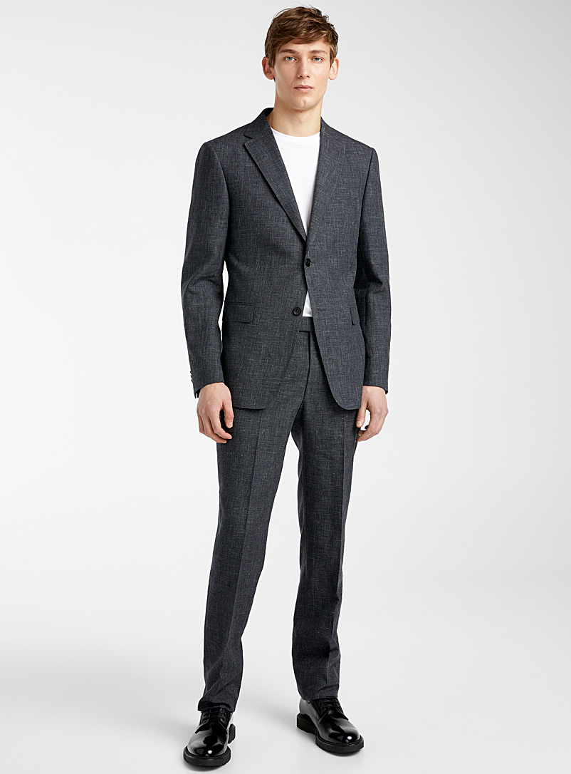 Z Zegna Black Wales suit for men