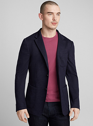 Techmerino Wash & Go blazer