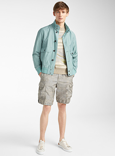 Z Zegna Green Bamboo jacket for men