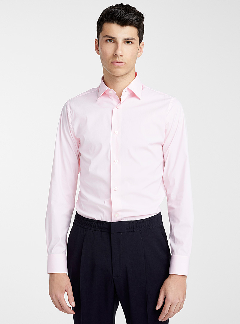 Z Zegna Pink Pink shirt for men