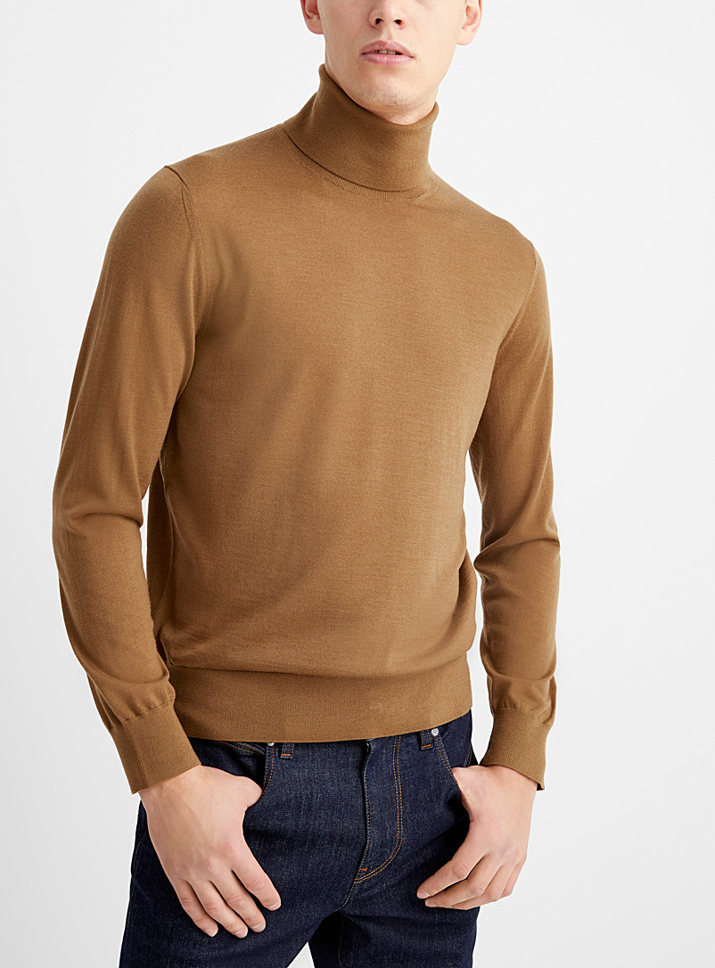 Z Zegna Honey Light knit turtleneck for men