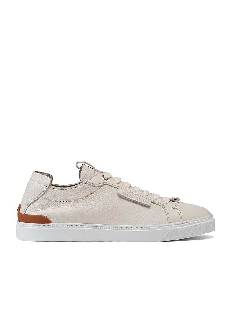 Ermenegildo Zegna White Ferrara sneakers for men