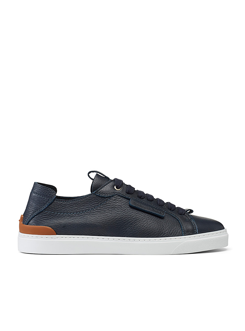 Ermenegildo Zegna Marine Blue Ferrara sneakers for men
