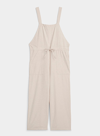 Organic cotton beach overalls