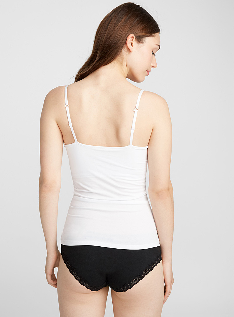 Organic cotton essential cami - Tank Tops - White
