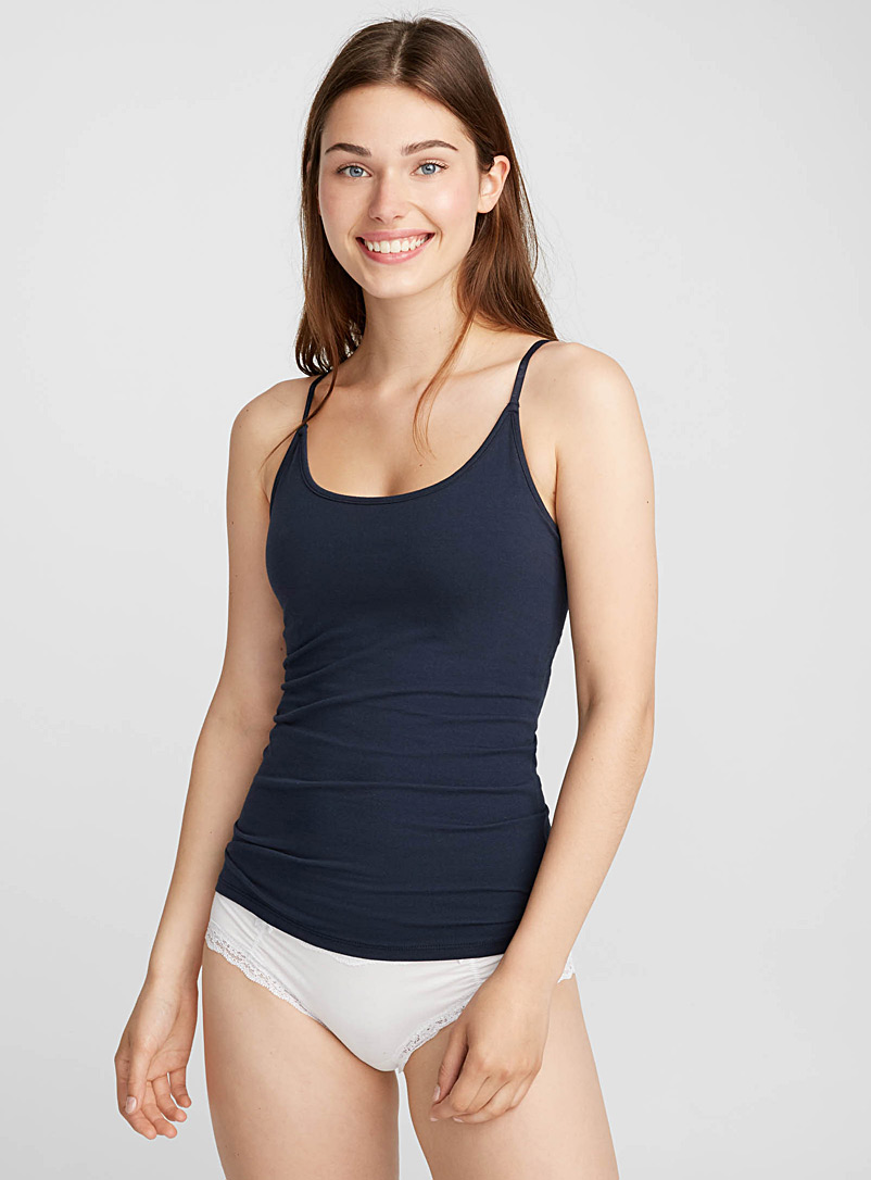 Organic cotton essential cami - Tank Tops - Marine Blue