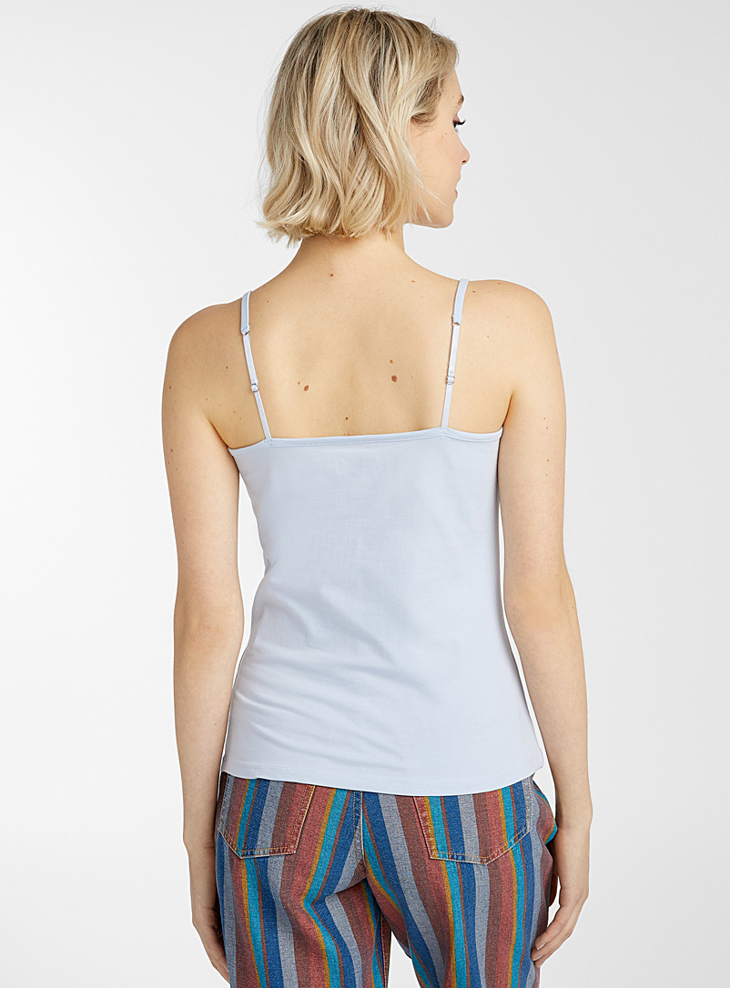 Twik Pink Solid organic cotton cami for women