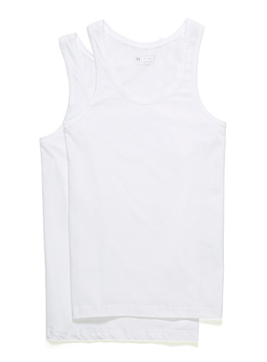 Organic cotton lounge tank  2-pack