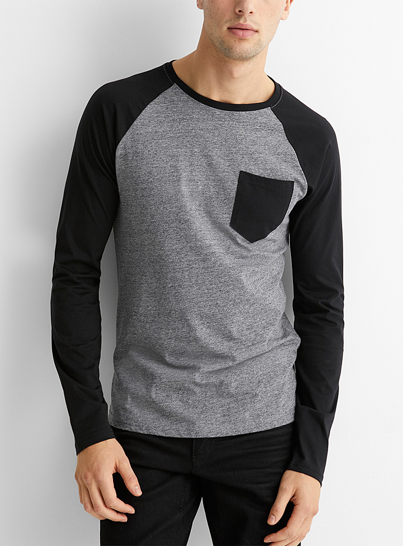 Organic cotton raglan T-shirt