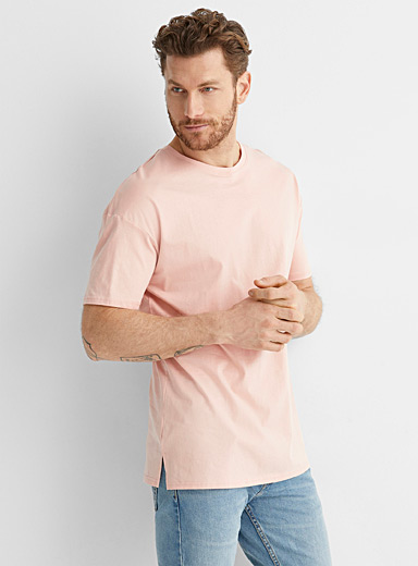 Organic cotton longline T-shirt