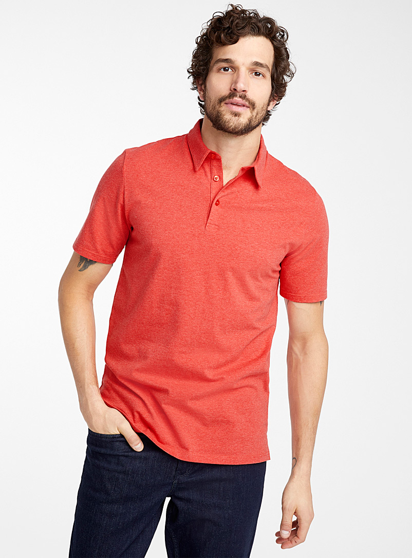 Le 31 Assorted Solid organic cotton polo for men