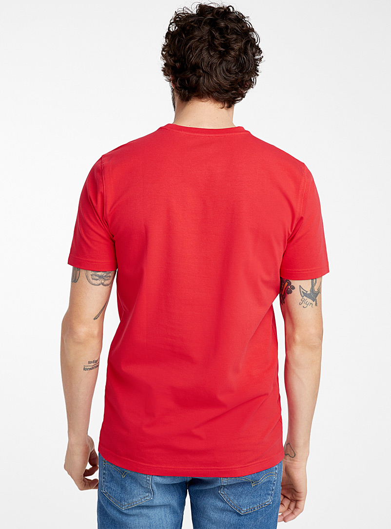 Stretch organic cotton T-shirt - Basics - Red