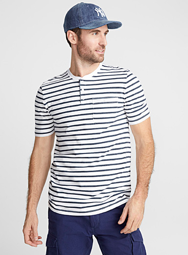 Sailor stripe organic cotton T-shirt