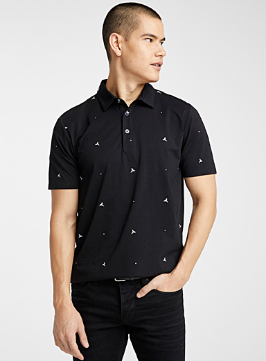 Summer pattern polo