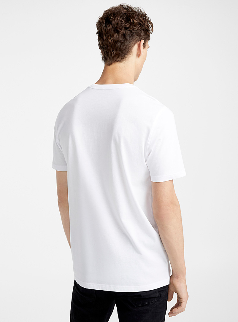 Organic cotton T-shirt - Short sleeves & 3/4 sleeves - White