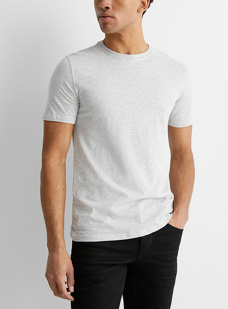 Le 31 Oxford Organic cotton T-shirt for men