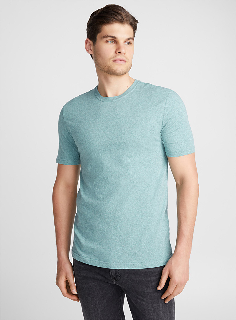 Coloured heather T-shirt - Short sleeves & 3/4 sleeves - Kelly Green