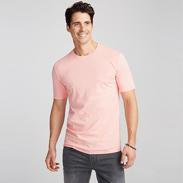 coloured-heather-t-shirt