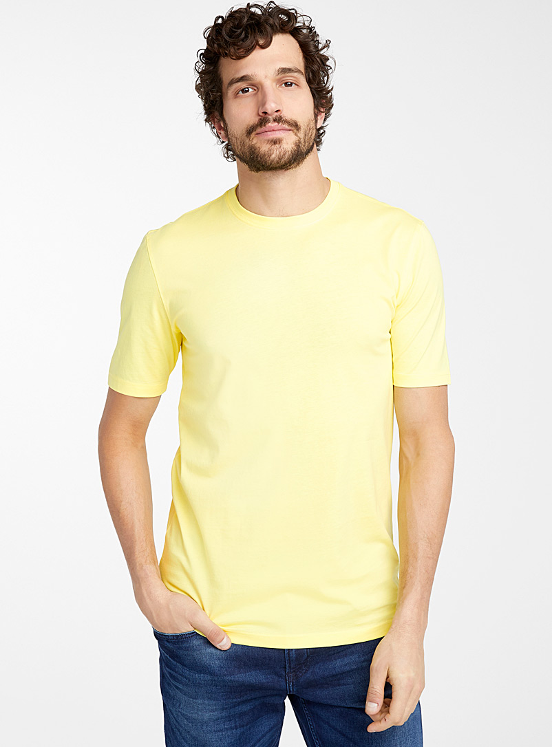 Crew neck organic cotton T-shirt