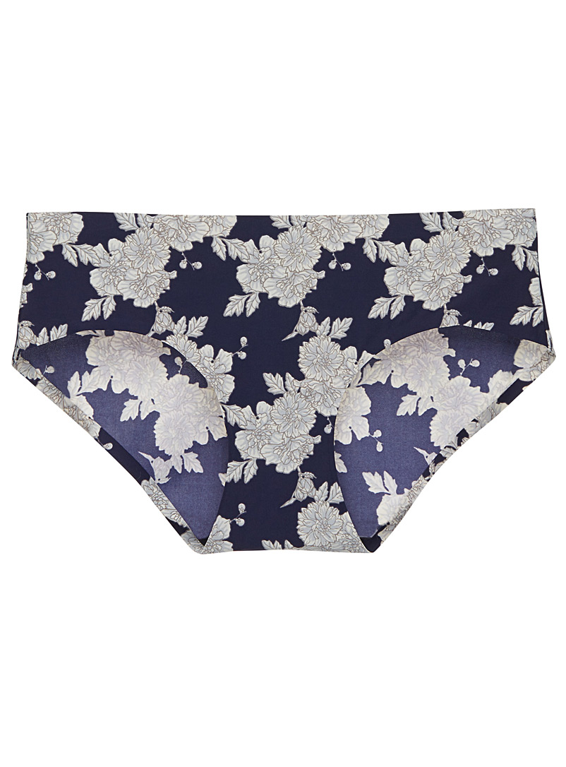 Floral seamless hipster - Hipsters - Patterned Blue