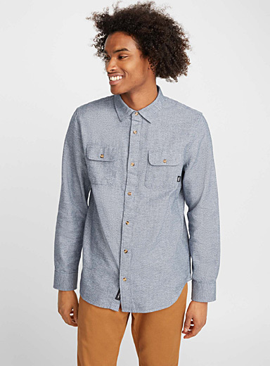 Two-tone worker shirt