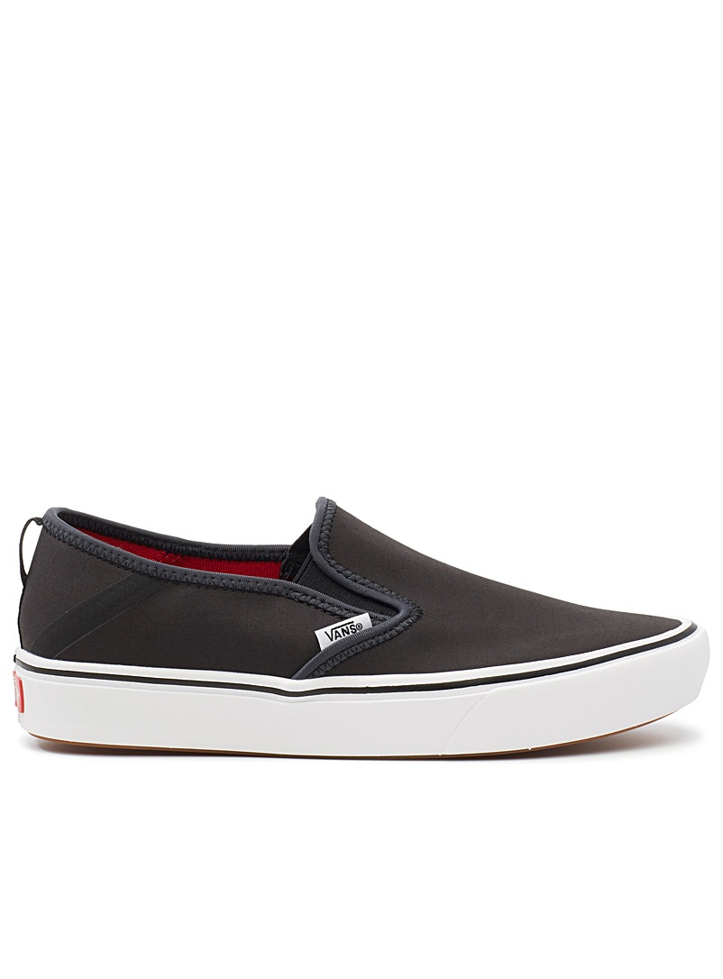 Lightweight ComfyCush slip-ons  Men - Sneakers - Black