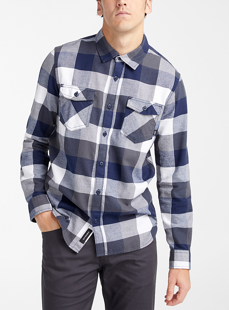 Vans Green Checked boxy shirt for men
