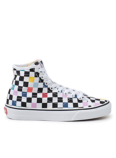 Le sneaker Sk8-Hi Party Checker <br>Femme