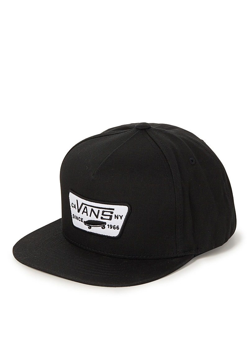 Vans Black Full Patch cap for men