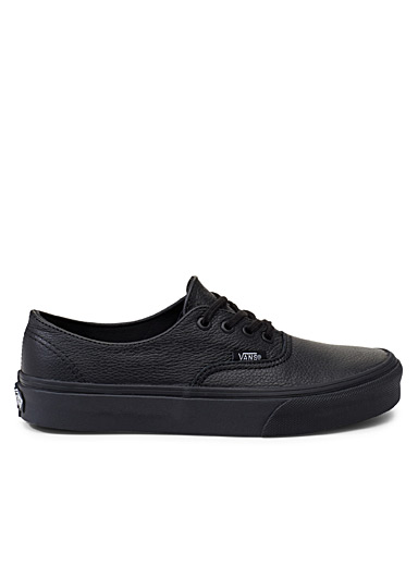 Le sneaker Authentic Decon cuir <br>Femme