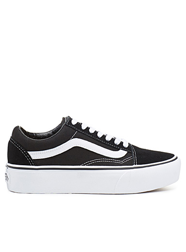 Vans Black Old Skool Platform sneakers  Women for women