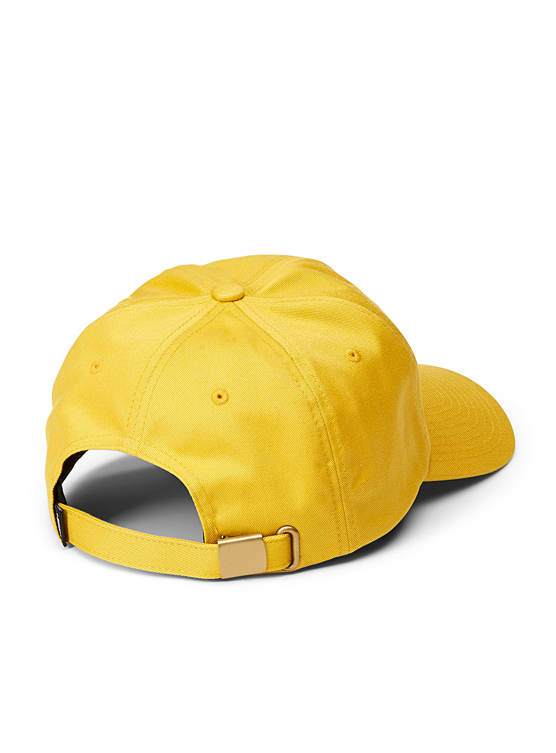 Vans Golden Yellow Bill Jockey cap for men