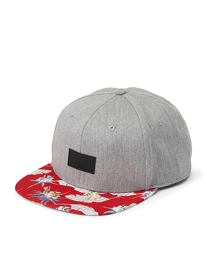 All Over It floral cap - Caps - Patterned Grey