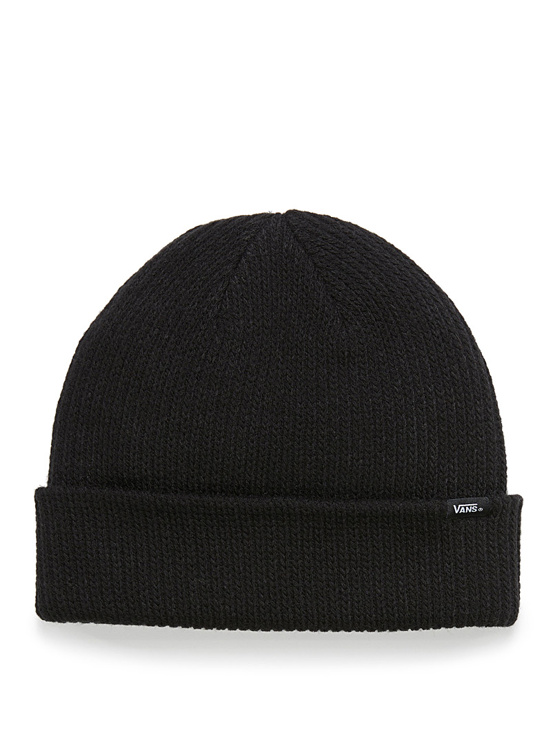 Core basic cuffed tuque - Tuques - Black