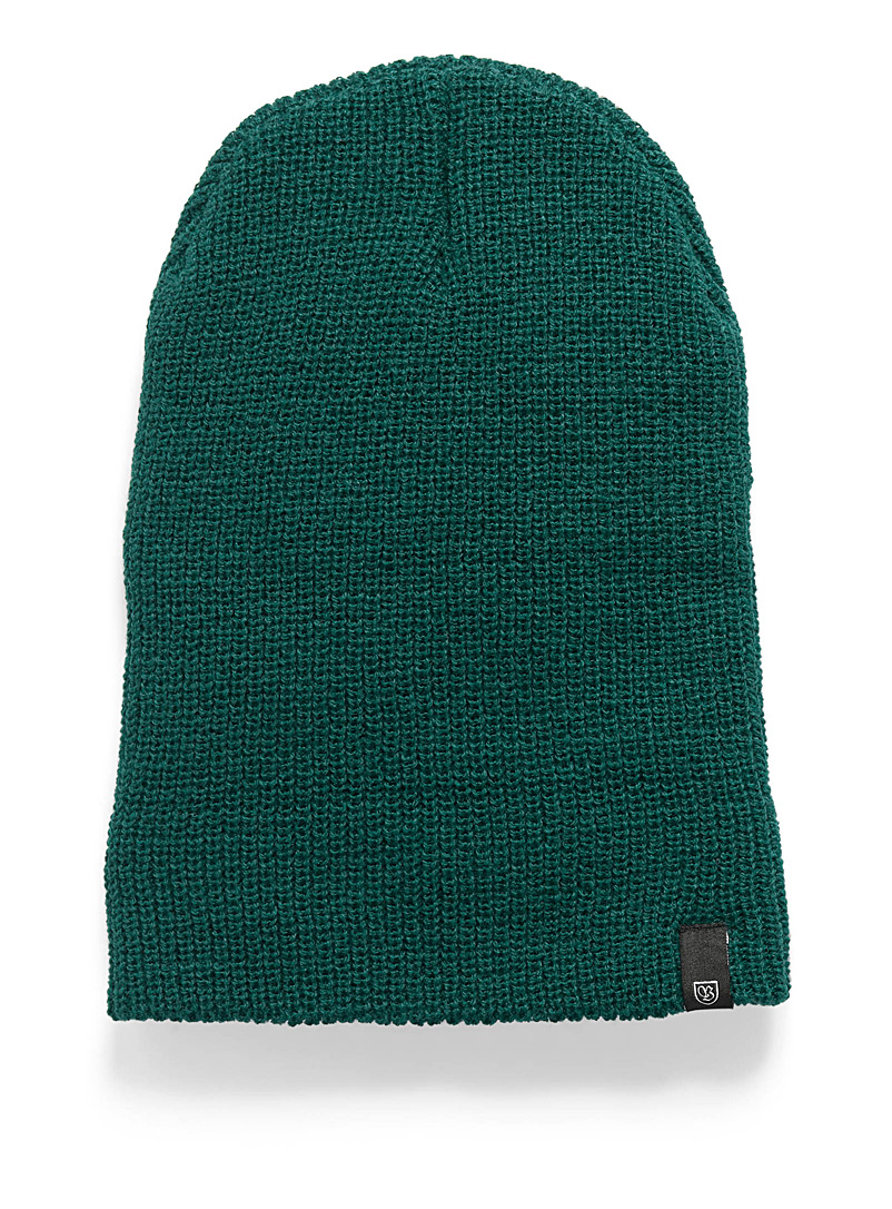 Core basics cuffed tuque - Tuques - Mossy Green