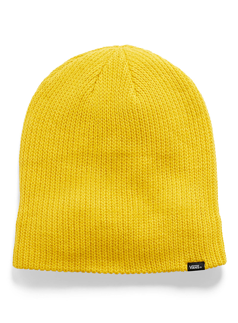 Core basic cuffed tuque - Tuques - Dark Yellow