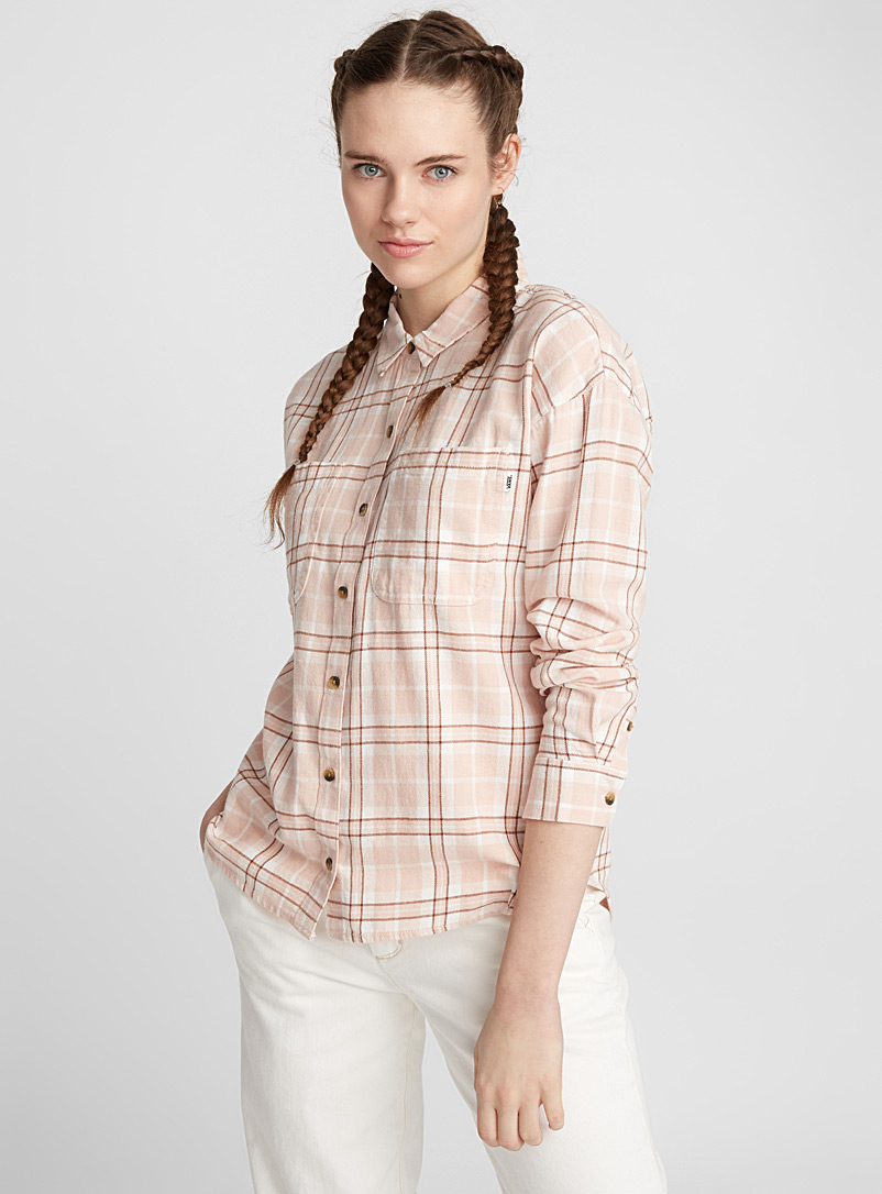Pink check shirt - Shirts - Assorted