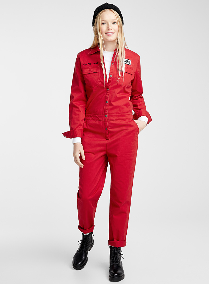 Red pepper mechanic jumpsuit - Jumpsuits & Rompers - Red