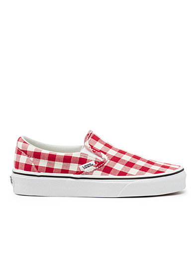 Gingham slip-ons  Women