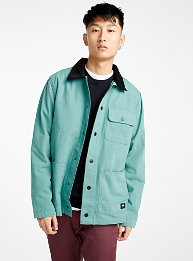 Mint worker overshirt