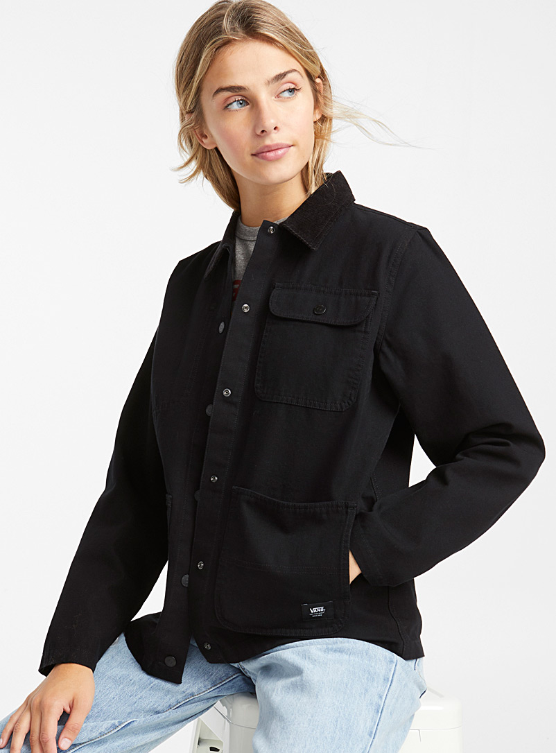 Utility overshirt - Jackets and Vests - Black